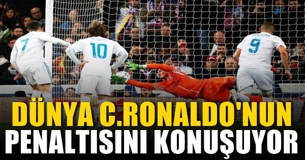 Dünya, Cristiano Ronaldo'nun sihirli penaltısını konuşuyor!